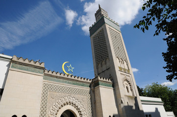 France, la Grande Mosquée de Paris
