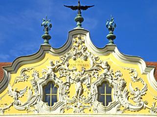 Falkenhaus Rokoko Fasade