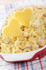 We love macaroni and cheese