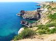 Black sea coast, Crimea, Ukraine