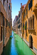 Beautiful alley in Venice, Italy.