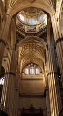 Inside of the Cathedral of Salamanca