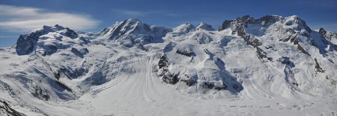 Gornergrat Matterhorn Gletscher Panorama