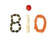 Bio (Kürbiskerne, Hirseflocken, rote Linsen, Tomate)