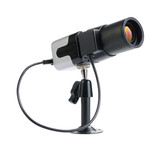 Small CCTV security camera for indor isolated poster
