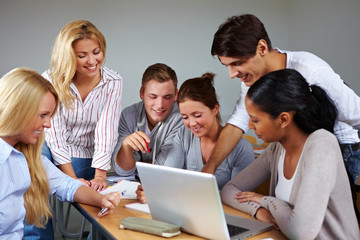 Gruppenarbeit im Studium