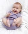 éclat de rire de bébé