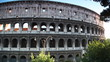 Colosseum or Flavian Amphitheatre in Rome