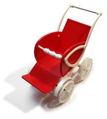 Retro toy stroller