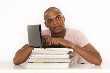 Student beim lernen