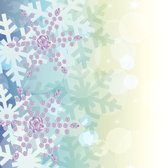 crystal decoration background