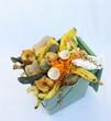 bac de déchets pour compost