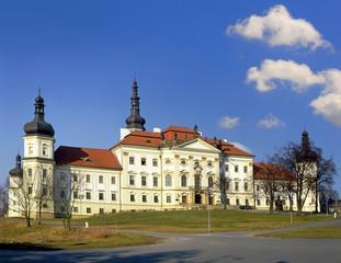 The complex of the former Hradisko Monastery in Olomouc