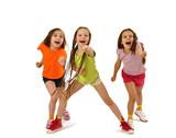 Fototapety Active sporty girls