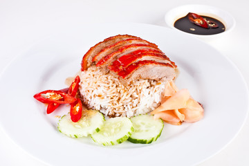 Roasted Duck with Rice4