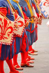 Corteo storico della Rufina per la festa del vino