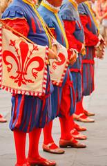 Corteo storico della Rufina per la festa dell'uva