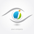 logo, j, optique, opticien, diagnostic