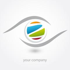 logo, z, optique, opticien, diagnostic