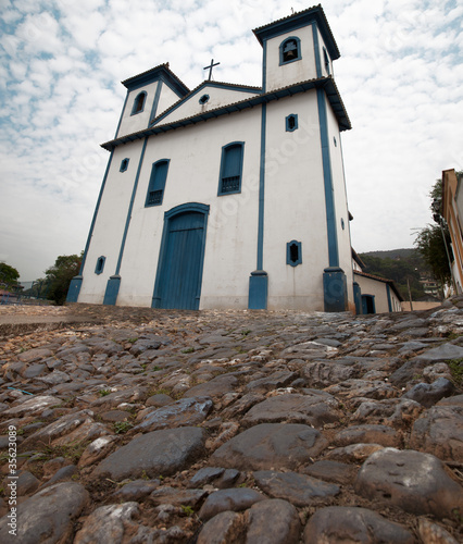 Historic Catholic Church in Brazil - Minas Gerais - Sabara