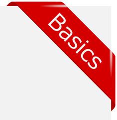 corner ribbon Basics en