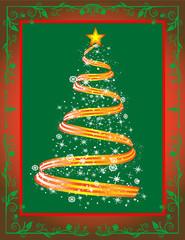 Beautiful Abstract Christmas Tree!