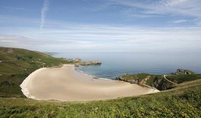 Playa de Torimbia en Llanes Asturias