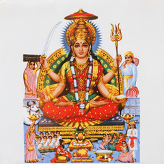 Parvati, Hindu Goddess of love and devotion