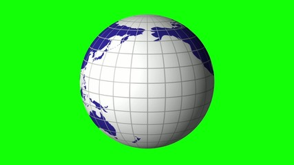 Hand and touchscreen. Earth. globe