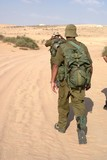Israeli Army military exercise