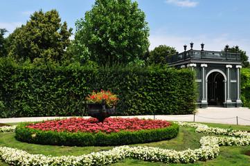 Imperial gardens, Schonbrunn (Vienna, Austria)