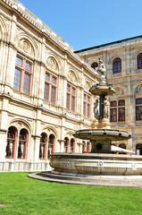 State Opera, Vienna. Architectural detail