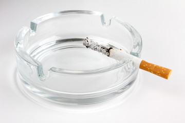 Ashtray glass