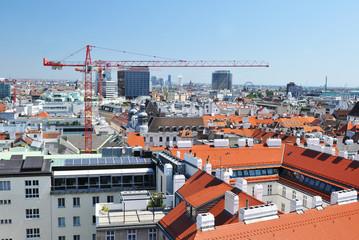 Vienna roofs