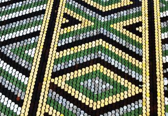 Roof tiles mosaic (Vienna, Austria)