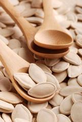 semi di zucca tostati - tre