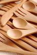 posate di bambù - due