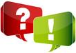 Speech Bubbles Question & Answer