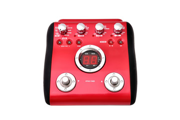 Guitar multi effects pedal