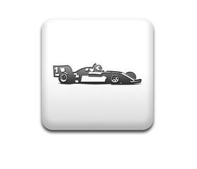 Boton cuadrado blanco formula 1