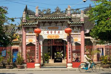 Quang Dong Assembly Hall, Hoi An, Viet Nam