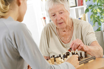Troisième age - Jeu d'échecs