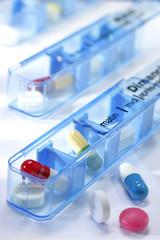 Pilulier journalier - Médicaments