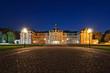 Leinwanddruck Bild - Wilhelms Universität Münster