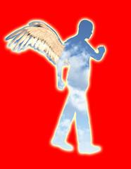 Walking Angel