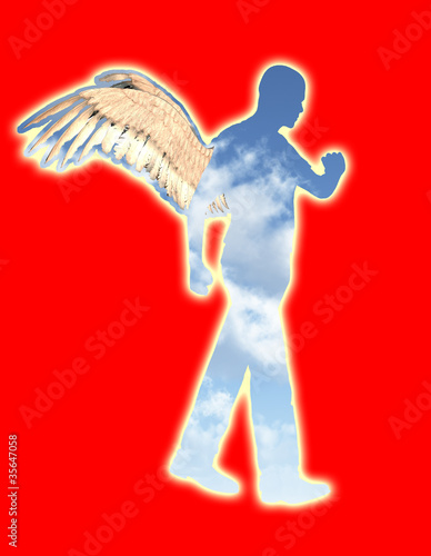 Walking Angel