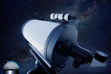 astronomical observatory telescope stars night