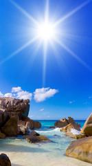 Seascape Scene Exotic Getaway