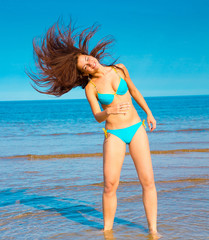 Beauty Beach Woman