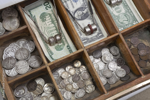 Vintage Money Drawer